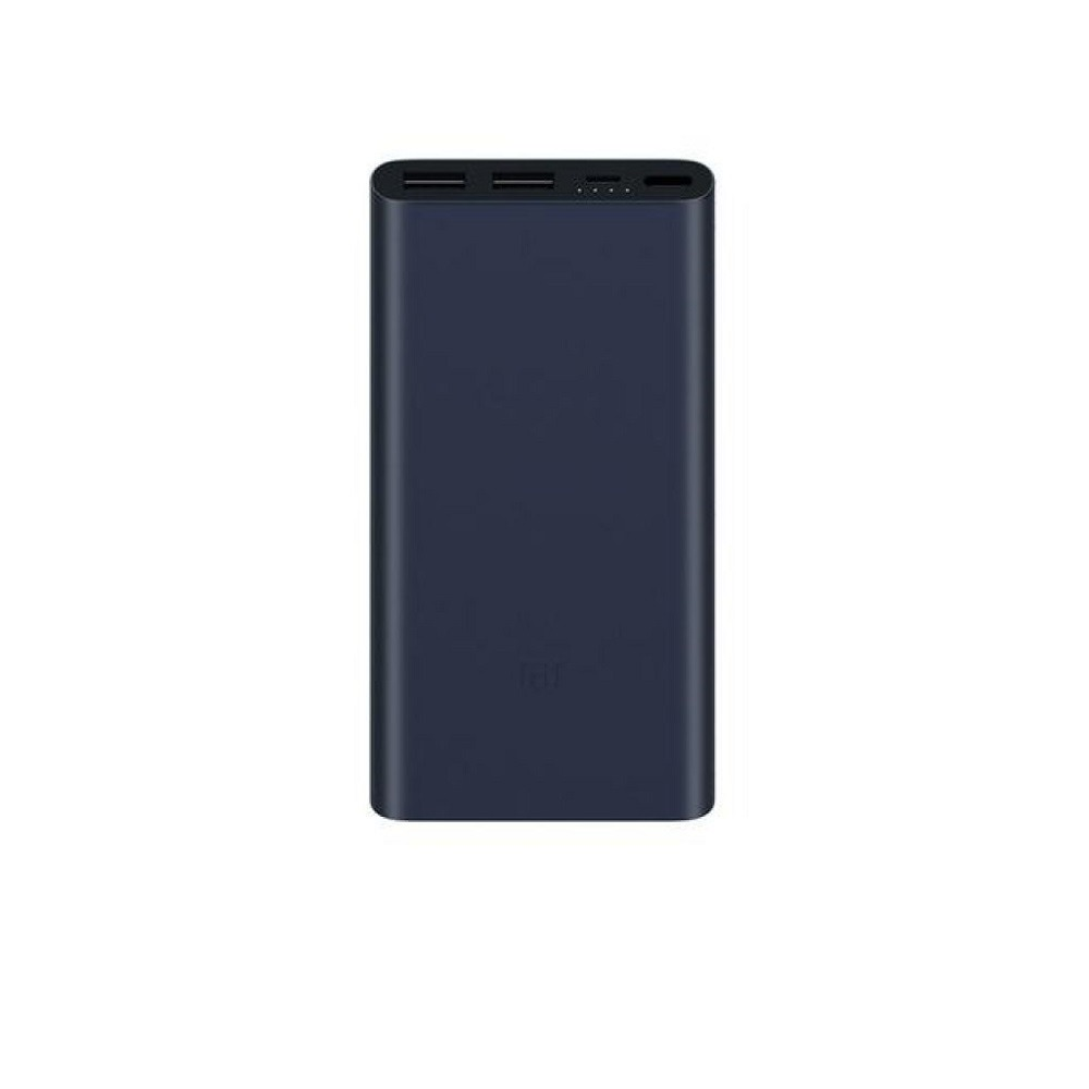 Mi POWER BANK 3 10000mAh QC3.0 FAST CHARGE Black / Silver